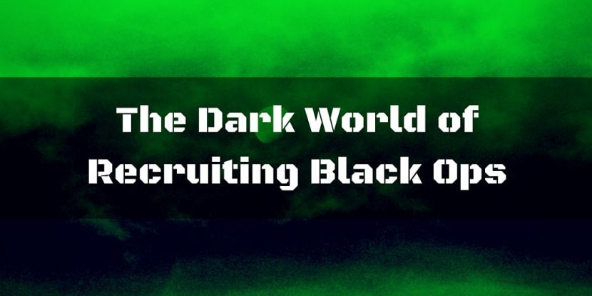 Tracy Tedesco - The Dark World of Recruiting Black Ops Title
